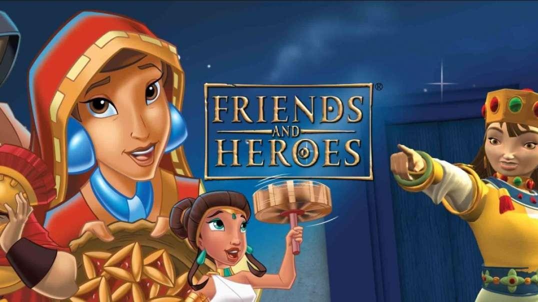 5 Heroes Verdaderos - Serie Amigos y Heroes