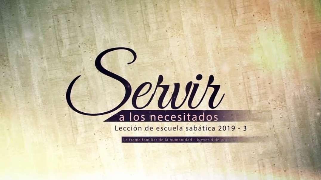 Lección 2: Lunes, Los Diez mandamientos - Servir a los necesitados